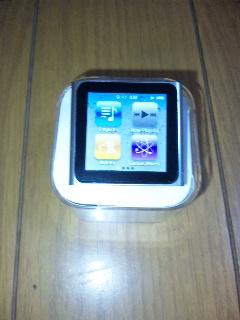 iPod nanoなの(^O^)/