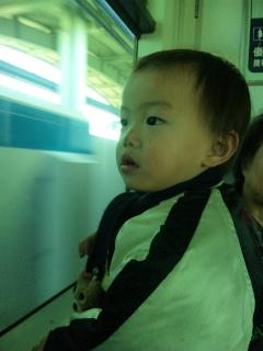 むっちの初電車o(^-^)o